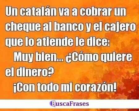 Chistes de catalanes buenos