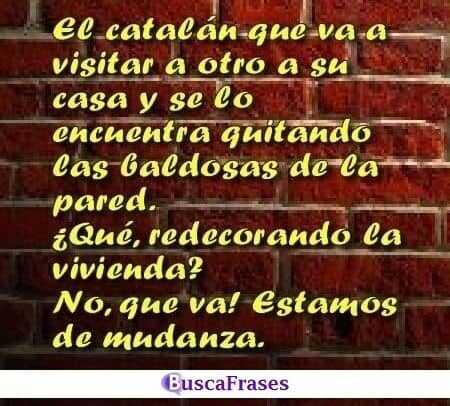 Chistes de catalanes tacaños
