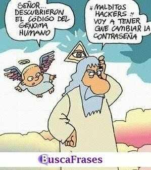 Chistes religiosos de Dios