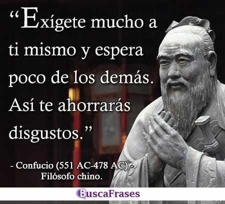 Citas de Confucio
