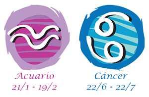 Compatibilidad entre acuario y cáncer
