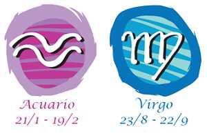 Compatibilidad acuario y virgo