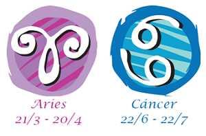 Compatibilidad aries y cáncer