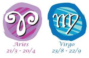 Compatibilidad aries y virgo