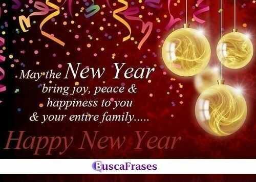 Felicitaciones de año nuevo en inglés