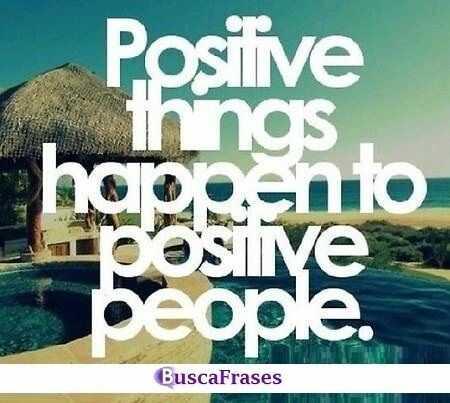 Frase positiva en inglés