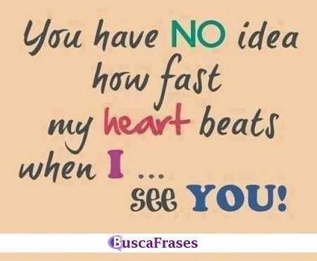 Frase muy linda y romántica en inglés
