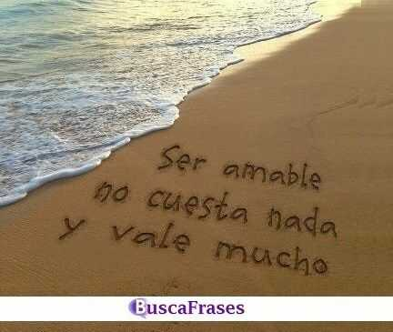 Frases amables con imágenes