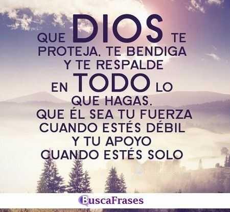 Frases bendiciones de Dios