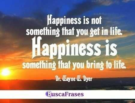 Frases célebres sobre la felicidad en inglés
