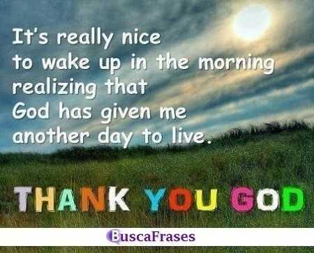 Frases de agradecimiento a Dios en inglés