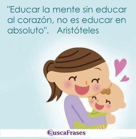 Frases de Aristóteles sobre la educación