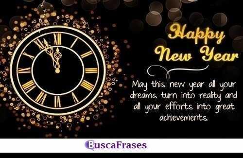 Frases de buenos deseos de año nuevo en inglés