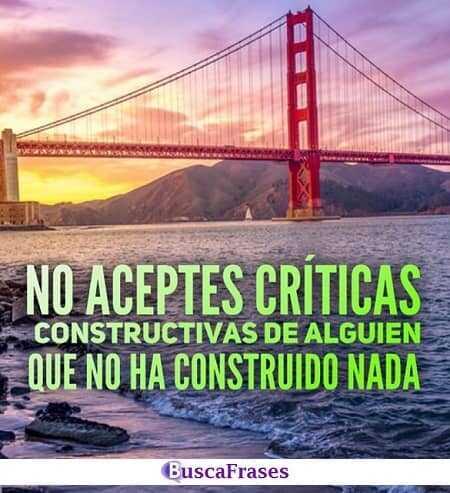 Frases de críticas constructivas