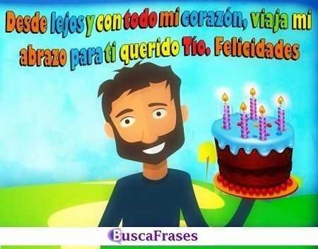 Frases de cumpleaños para mi tío