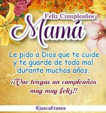 Frases de CUMPLEAÑOS para MADRES - Buscalogratis.es