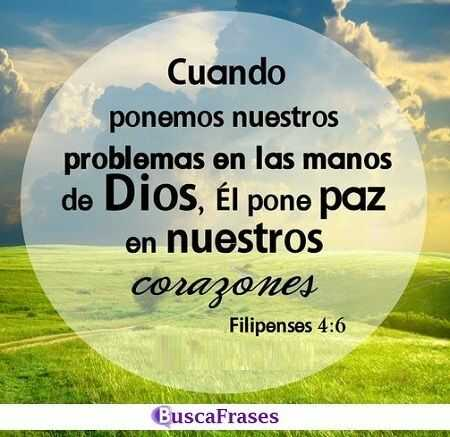 Frases de fe en Dios en momentos difíciles
