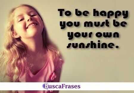 Frases de felicidad en inglés cortas