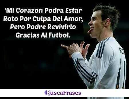 Frases de futbol y amor