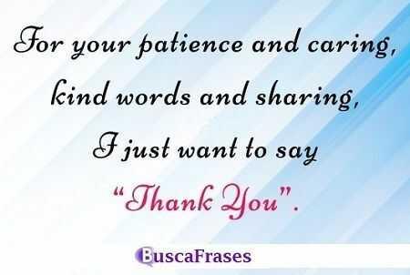 Frases de gratitud en inglés