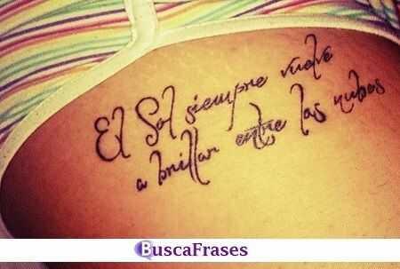 Frases de motivación para tatuarse
