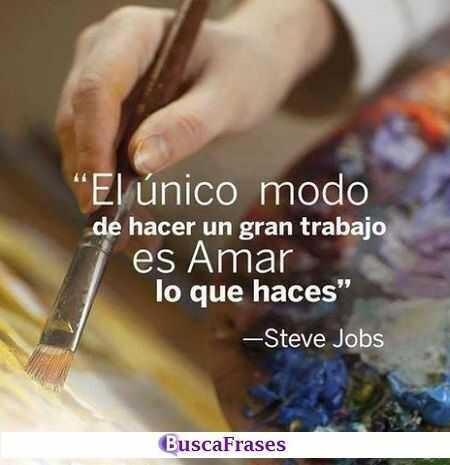 Frases de motivación para trabajar