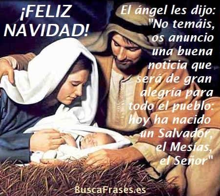 Frases de Navidad católicas
