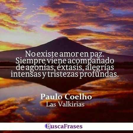 Frases de Paulo Coelho sobre el amor