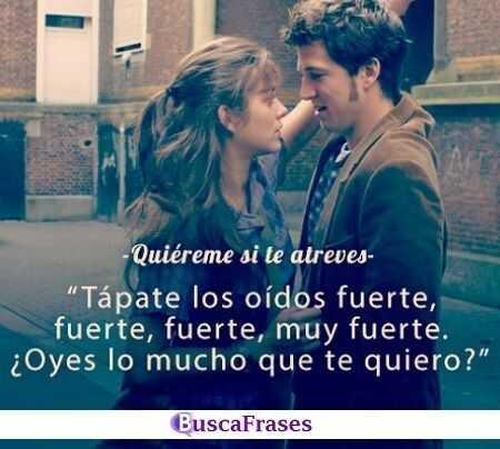 Frases de películas románticas