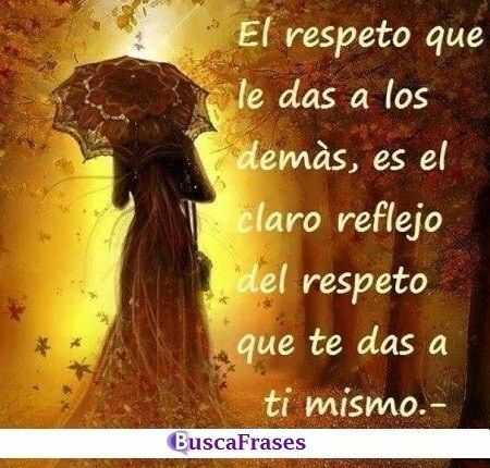 Frases de respeto a uno mismo