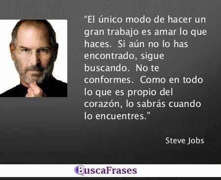 Frases de Steve Jobs sobre el trabajo