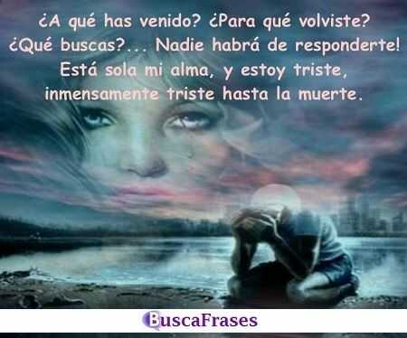 Frases Tristes Buscafraseses