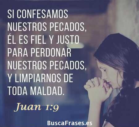 Frases del perdón de Dios