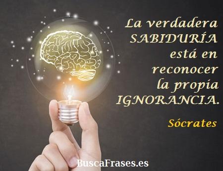 Frases filosóficas de Sócrates