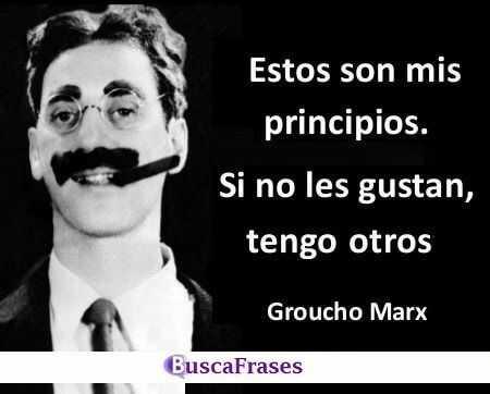 Frases graciosas de Groucho Marx