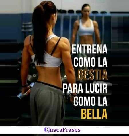 Frases para dar fuerza para entrenar