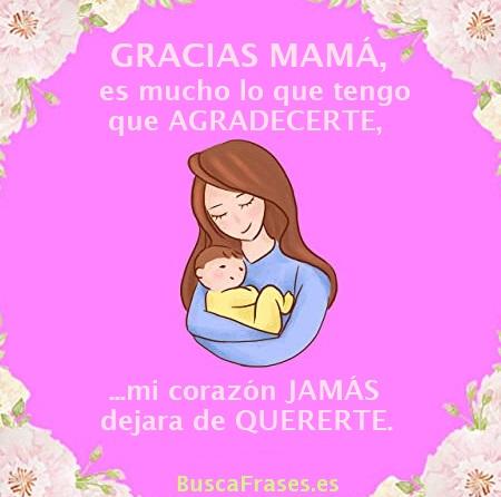 Frases para dar gracias a una madre