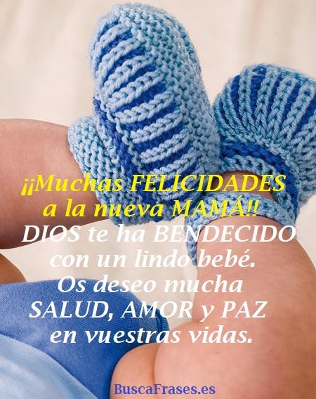 Frases para dar la enhorabuena por un bebé