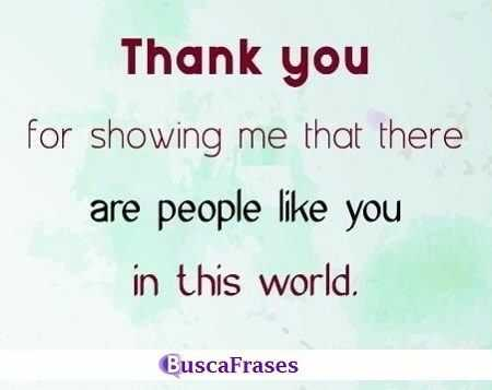 Frases de agradecimiento en inglés