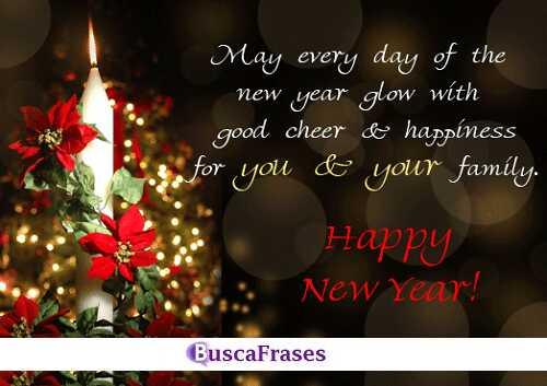 Frases para desear feliz año nuevo en inglés