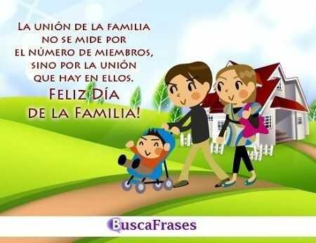 Frases para el día internacional de la familia
