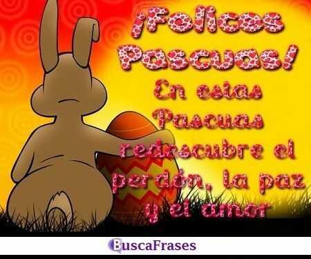 Frases para felicitar Pascua de Resurrección