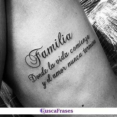 Frases para tatuajes en castellano