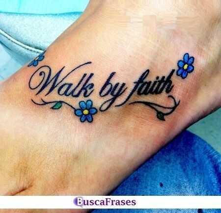 Frases para tatuajes en el pie