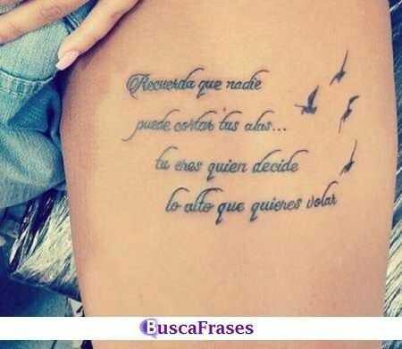 Frases Para Tatuajes En Espanol Buscalogratis Es