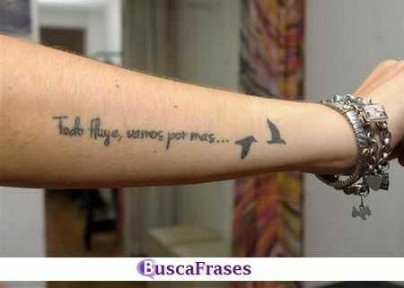 Frases positivas para tatuajes