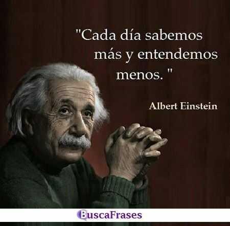 Frases sabias de Albert Eisntein