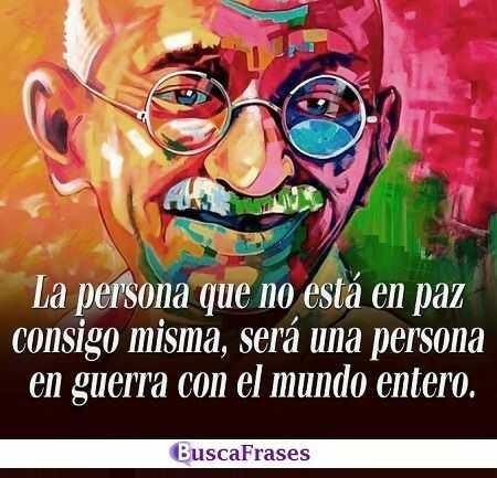 Frases sabias de Mahatma Gandhi