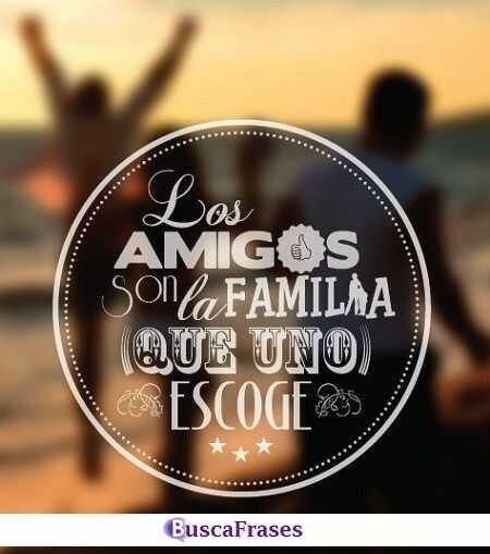 Frases sobre la familia y la amistad