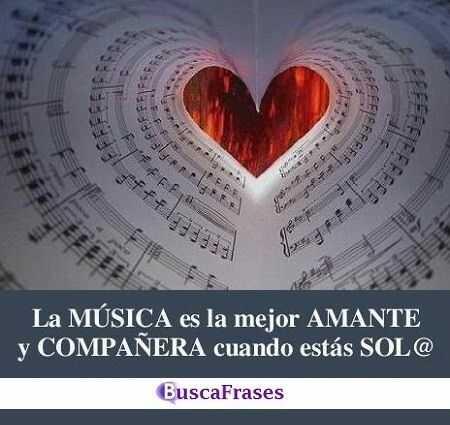 Frases sobre la música y el amor